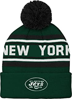 NFL New York Jets Youth Outerstuff Structured Adjustable Hat, Team Color, Youth One Size