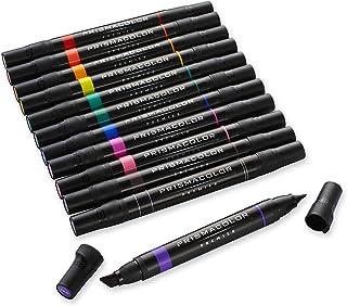 Sanford® Prismacolor® Marcadores artísticos profesionales, juego de 12 unidades de colores primarios y secundarios