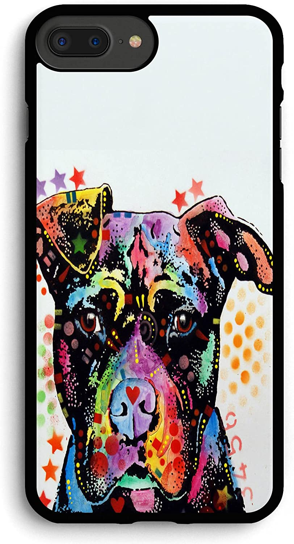 Give Love Pitbull iPhone 7PLUS /8 Plus Case,PC Hard Case for iPhone 7PLUS /8 Plus