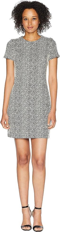 Short Sleeve Ponte T-Shirt Body Dress CD8P28QQ
