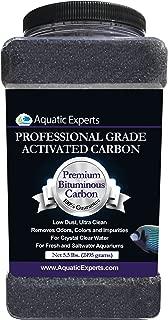 Premium Activated Carbon - Aquarium Filter Charcoal Media with Fine Mesh Bag - Remove Odors and Discoloration with Bituminous Coal