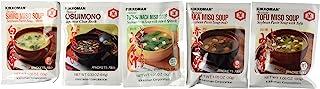 Kikkoman Instant Soup Miso Variety 5 Pack