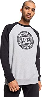 DC Circle Star Raglan Long Sleeve T-Shirt