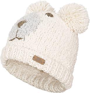 Trespass Womens/Ladies Polar Bear Winter Pom Pom Hat