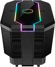Cooler Master MasterAir MA620M Dual Tower ARGB High Performance CPU Air Cooler, 6 CDC 2.0 Heatpipes, SF120R Fan, Hexagon S...