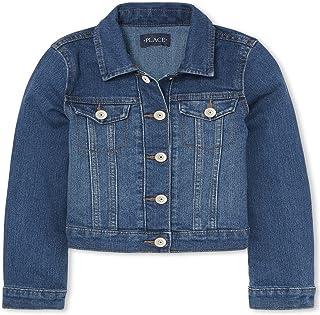 Girls' Basic Denim Jacket