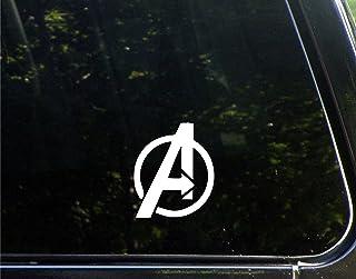 vinyl car decal *authorized vehicle* Marvel Avengers Tower