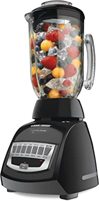 Black & Decker BLC12600B 650W Cyclone 12-Speed Blender, Black
