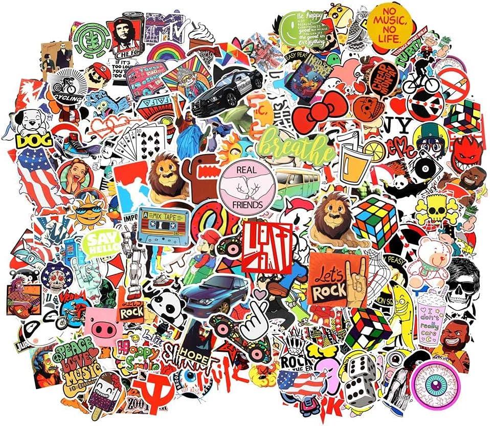 Cool Random Stickers Ranking Cheap super special price TOP4 55-700pcs Bomb Vinyl FNGEEN Laptop