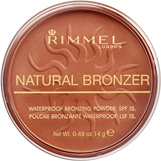 Rimmel London, Natural Bronzer, 25 Sun Glow, 14 g