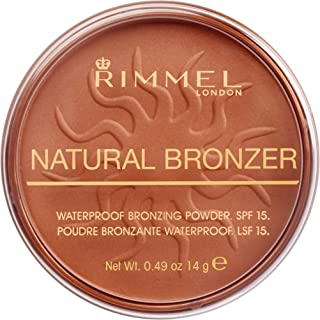 Rimmel London, Natural Bronzer, Shade 025, Sun Glow