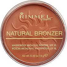 Rimmel London Natural Bronzer, Sun Glow, 0.49 Ounce