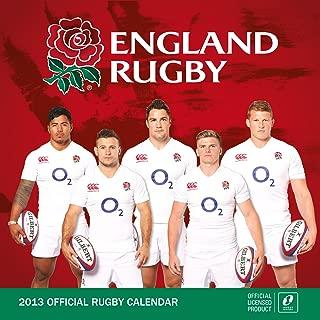 Official England Rugby Union (Square) 2013 Calendar