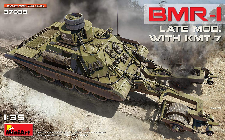 Miniart 1 35  BMR1 Late Modwith KMT7