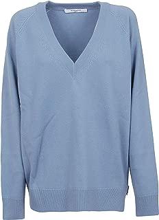 GIVENCHY Luxury Fashion Womens BW906H4Z4E450 Light Blue Sweater | Fall Winter 19
