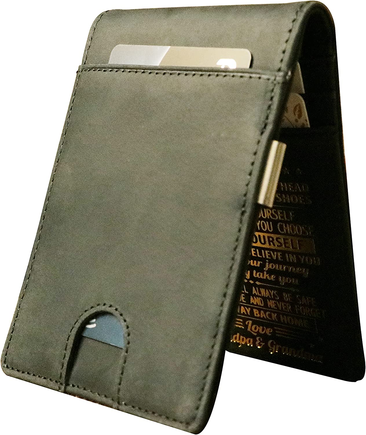 Money Clip for Men Personalized Biflod Engraved Slim Special price for a limited time Wallets Special price a limited time