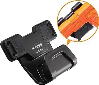 Stinger Magnetic Gun Holder w/Safety Trigger Guard Protection, Wall Mounted Gun Rack, Firearm Concealed Holster for Handgun Rifle Shotgun Pistol Revolver, Car Storage, Desk Mount