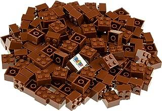 Strictly Briks Classic Bricks 144 Piece 2x2 Brown...