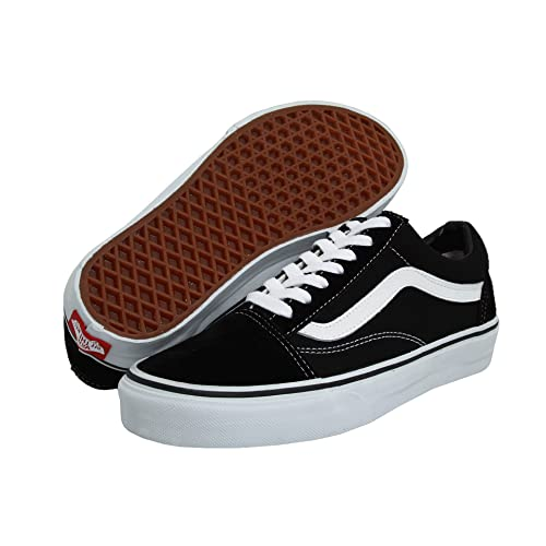 72e7ba4751d7 Vans Old Skool Black White Mens US 12