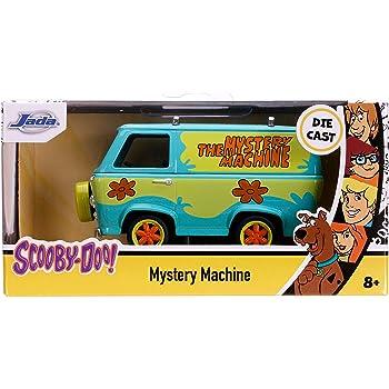 The Mystery machine with Shaggy and Scooby-Doo personaje set 1:24 jada