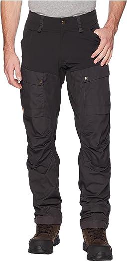 e67a26f1d52 Fjallraven keb trousers regular black black | Shipped Free at Zappos