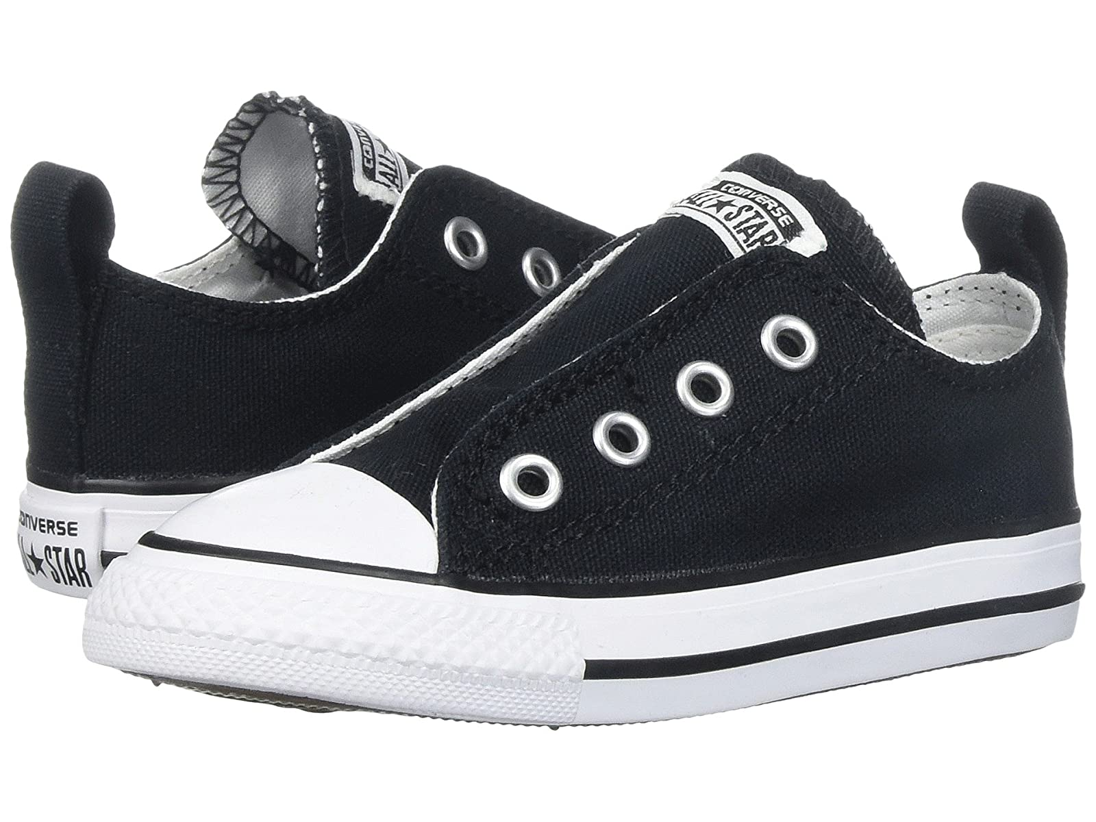 Converse Kids Chuck Core Taylor® All Star® Core Chuck Slip (Infant/Toddler) 3d2538