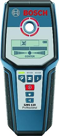 Detector de Materiais (GMS 120 Prof), Bosch 0601081000-000, Azul
