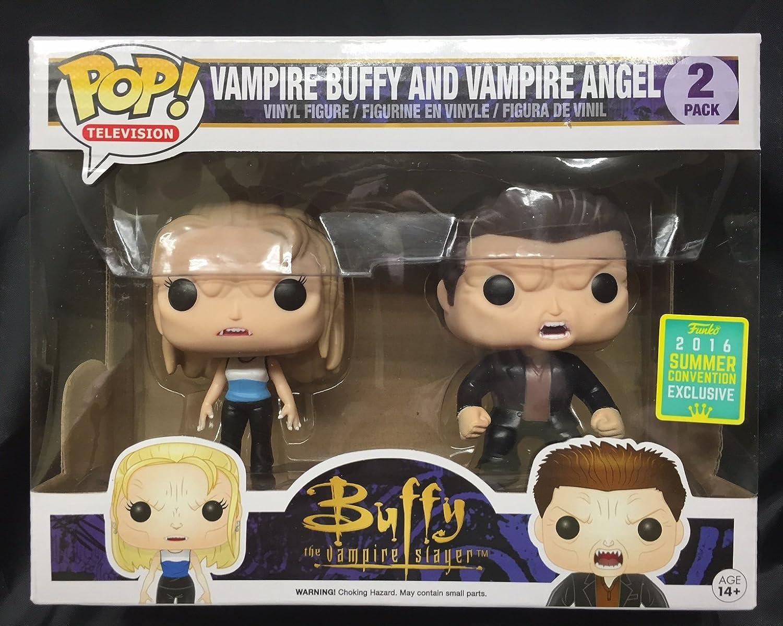 divertimentoko - Figurine Buffy Contre les Vampires - 2-Pack Angel & Buffy Vampire Exclu Pop 10cm - 0849803095352