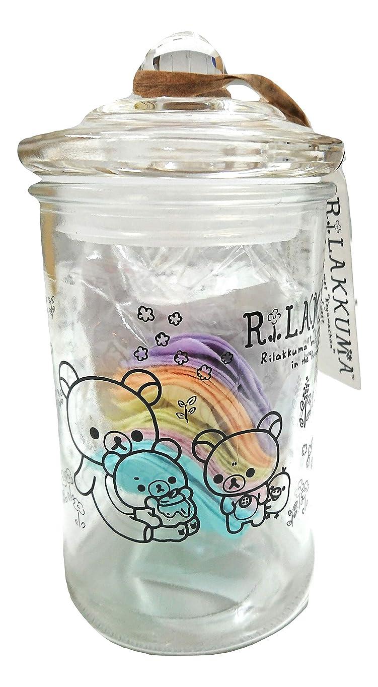 リーダーシップ不正確ピクニックリラックマ バスフレグランス ボトル(ROSE)入浴剤 ギフト