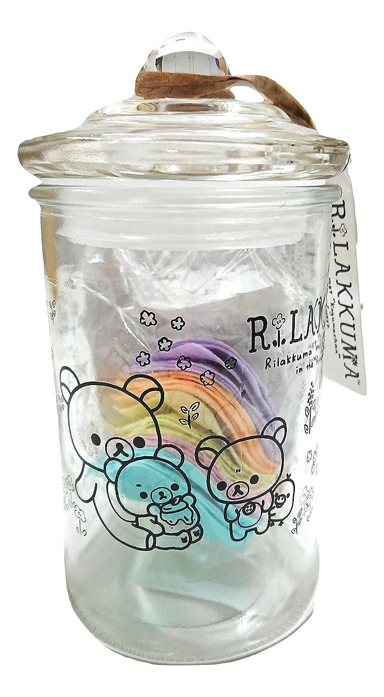 式プレミアム締め切りリラックマ バスフレグランス ボトル(ROSE)入浴剤 ギフト