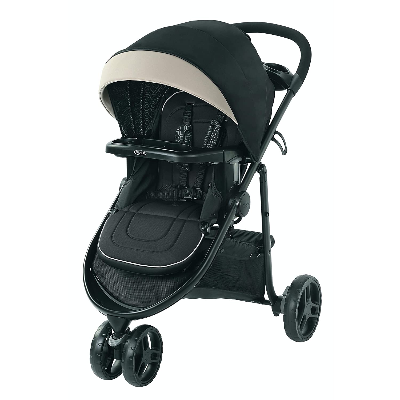 Graco Modes 3 Lite DLX Stroller, Includes Reversible Seat, Pierce, 15.9 Pound