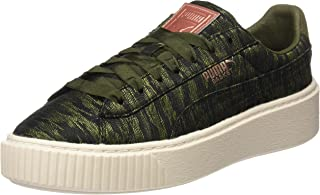 PUMA Basket Platform Vr Womens Trainers 364092 Sneakers Shoes