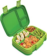 Bentgo Fresh (Green) – New & Improved Leak-Proof, Versatile 4-Compartment Bento-Style Lunch Box – Ideal for Portion-Contro...
