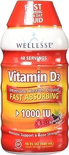 Wellesse Vitamin D3 - Liquid 16 oz. - 1000 IU