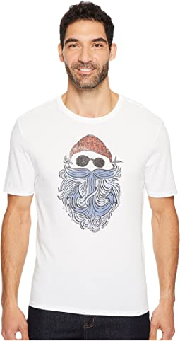 Life is Good - Salty Anchor Beard Smooth Tee
