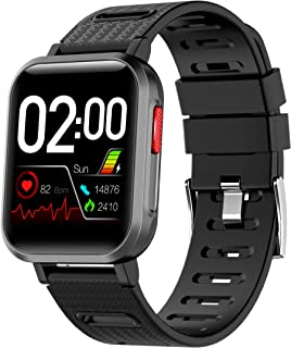SCOZER Smart Watch Fitness Tracker with Heart Rate Blood Pressure Blood Oxygen Monitor,GPS Activity Tracker IP68 Waterproof Digital Watch with Step Calorie Counter,Pedometer Smartwatch for Men Women