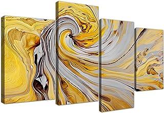 /1337/Wallfillers Grande Vert gris abstrait Peinture sur toile murale Art photos/ /panoramique/ /120/cm de large/