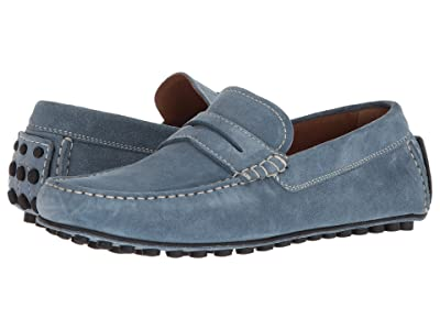 Robert Talbott Le Mans (Light Blue Suede) Men