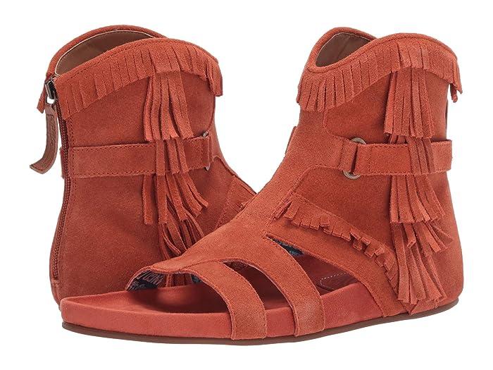 #SunnyDay  Shoes (Rust Suede) Women's Shoes