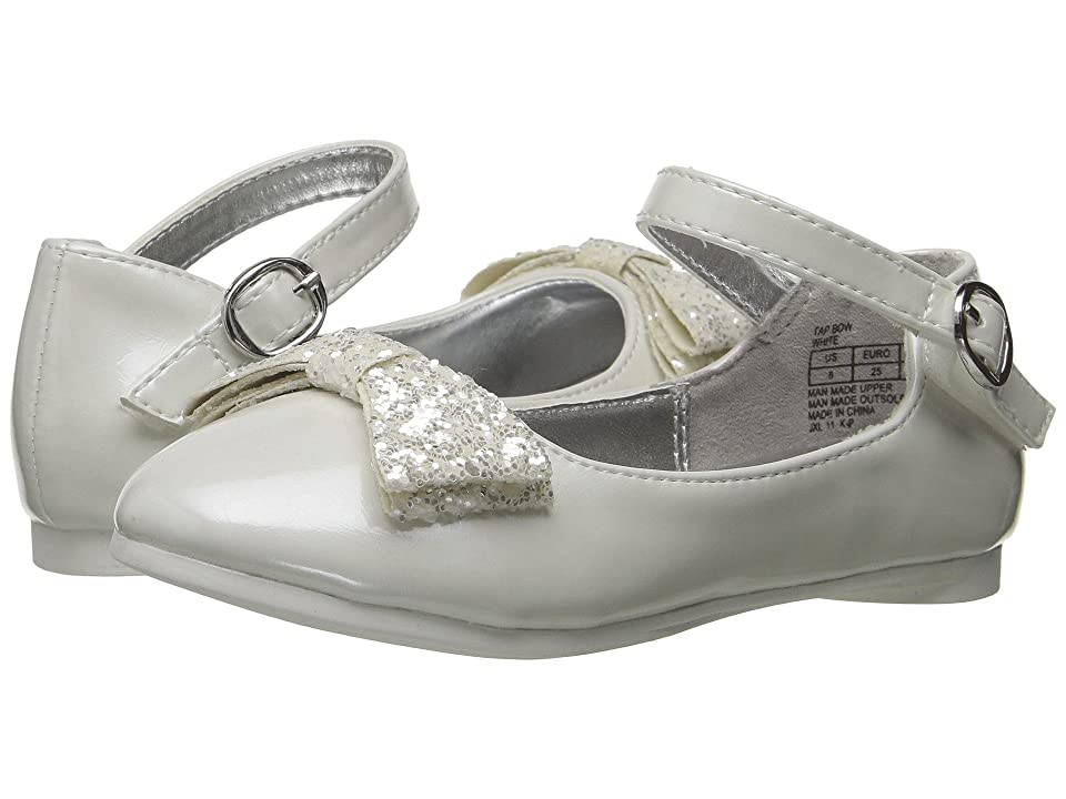 Kenneth Cole Reaction Kids Tap Bow (Toddler) (White) Girl