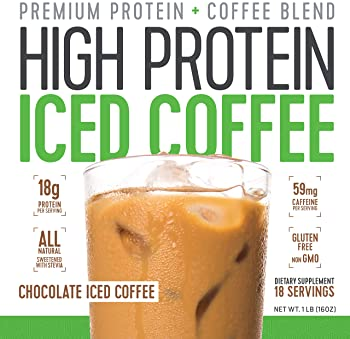 Protein Coffee Iced Coffee, High Protein Coffee, Protein Coffee, Keto Friendly, 18g of Protein, 2g Carbs, All Natural...