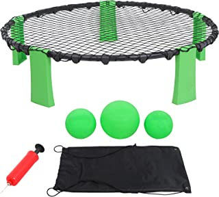 Alek...Shop Game Set Combo Beach Volleyball Style (Target, 3 Balls, Bag) Spike Ball Game
