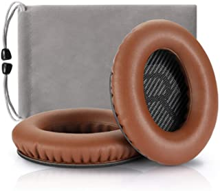 Headphones Replacement Ear Pads,for Bose Quietcomfort QC15 QC25 QC35 35 ii-(Brown)