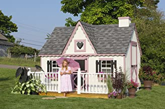 Victorian 8' x 10' Wood Playhouse Kit Without Floor