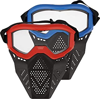 Surper 2 Pack Face Mask Tactical Mask Compatible with Nerf Rival, Apollo, Zeus, Khaos, Atlas, Artemis Blasters Rival Mask