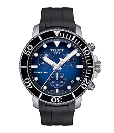 Tissot T-Sport Seastar 1000 Chronograph T1204171704100 (Blue Gradient) Watches