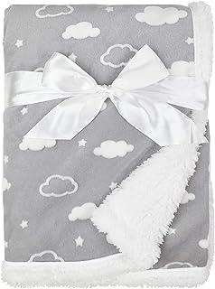 American Baby Company Heavenly Soft Chenille Sherpa...