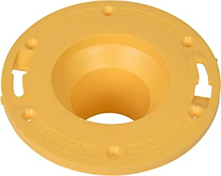 OATEY 43405 Set-Rite Toilet Flange Extender only only, 1 size, Yellow