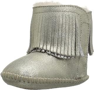 Kids I Branyon Fringe Metallic Boot