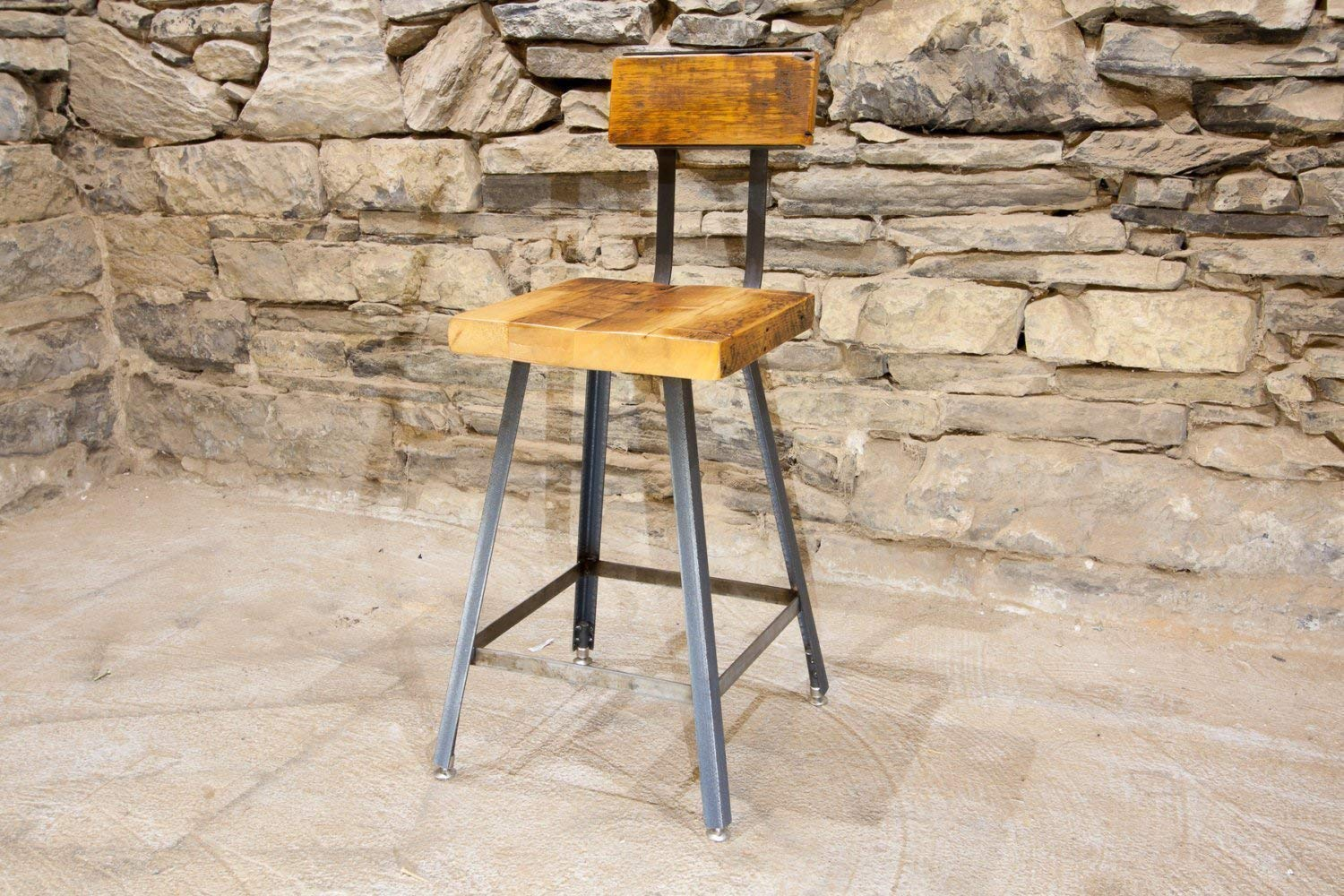 The Brewster Bar Stool and wit Many popular brands Wood Reclaimed from Counter High order